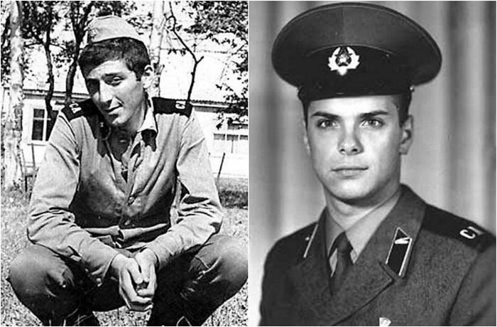 Отечественные знаменитости, которые служили в армии.