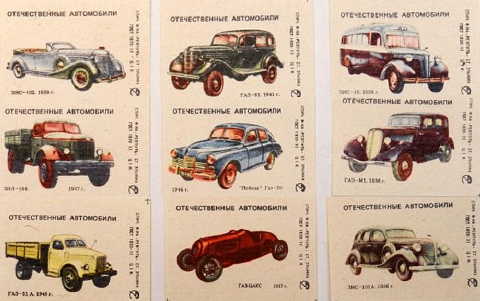 Оригинальные коллекционные спичечные коробки.