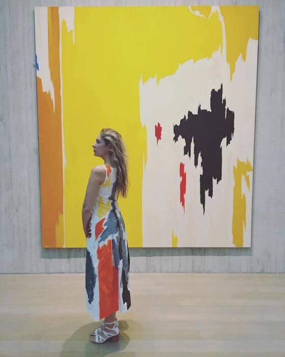 Картина от мастера абстрактного экспрессионизма Клиффорда Стилла (Clyfford Still).
