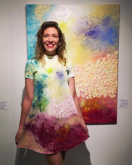 Полотно «Подарок природы» создано болгарской художницей Кристиной Сретковой (Kristina Sretkova).