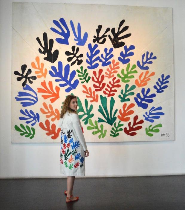 Полотно «Волна» французского художника Генри Матисса (Henri Matisse).