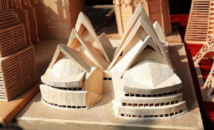Музыкальный театр в Сиднее, одно из наиболее известных и легко узнаваемых зданий мира.