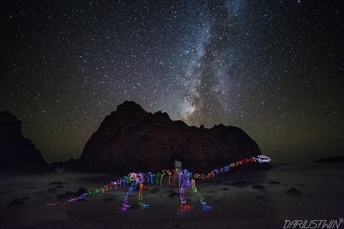 Удивительная робота фотографа и художника из Лос-Анжелеса, Даррена Пирсона (Darren Pearson).