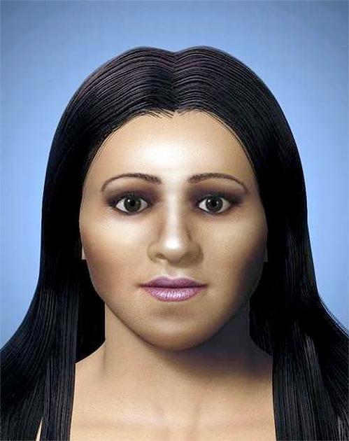 Лицо Арсинои, младшей сестры и жертвы царицы Клеопатры, было воссоздано по меркам, снятым с ее черепа.