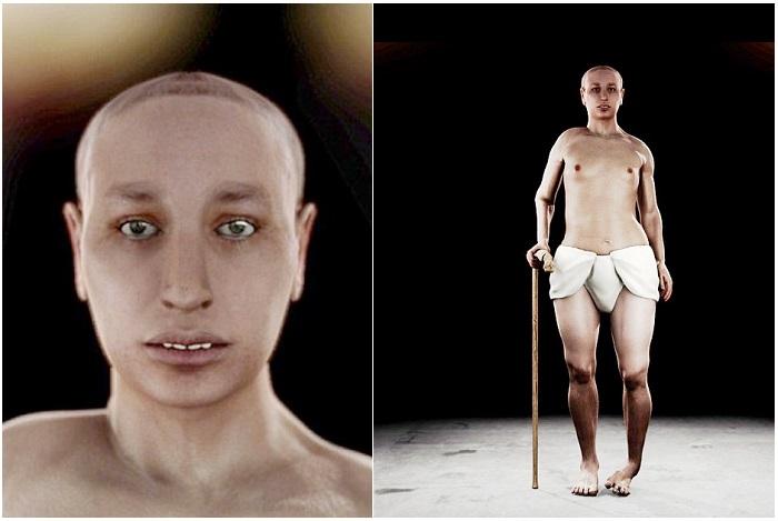 Антропологическая реконструкция облика древних людей.