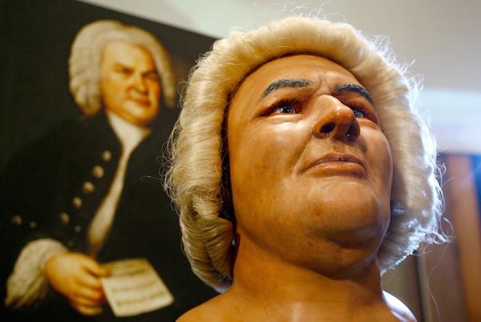 Реконструкция внешности великого немецкого композитора XVIII века.