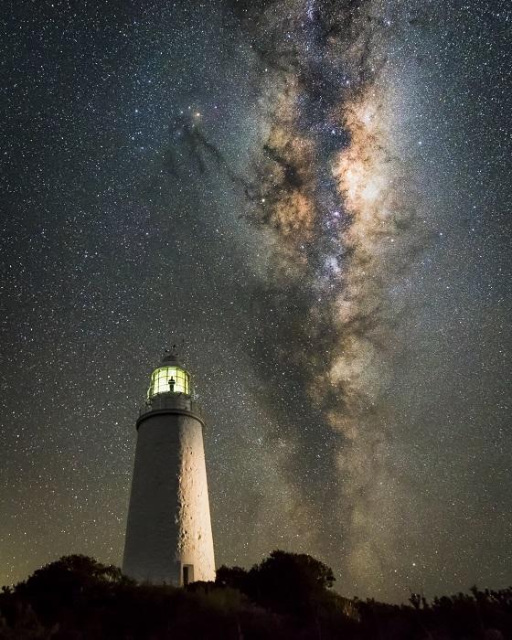 Непревзойдённый вид на звёздное небо.