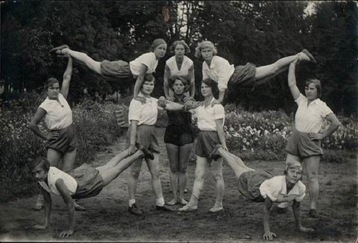 Орловская область, дом отдыха «Богдановский», 1935 год.