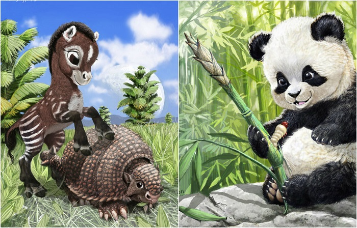 Эти очаровательные животные.