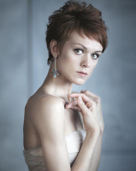 Русская балерина, прима Мариинского театра в Санкт-Петербурге.