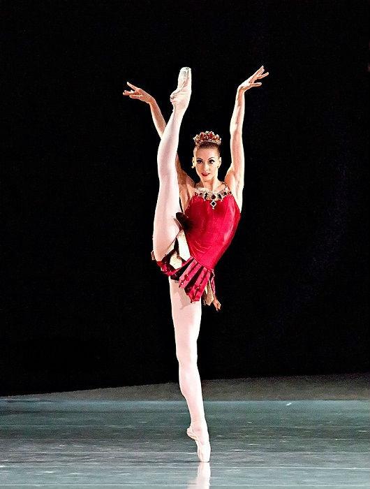 Российская балерина, в труппе Мариинского театра с 2001 года, с 2012 года прима-балерина.