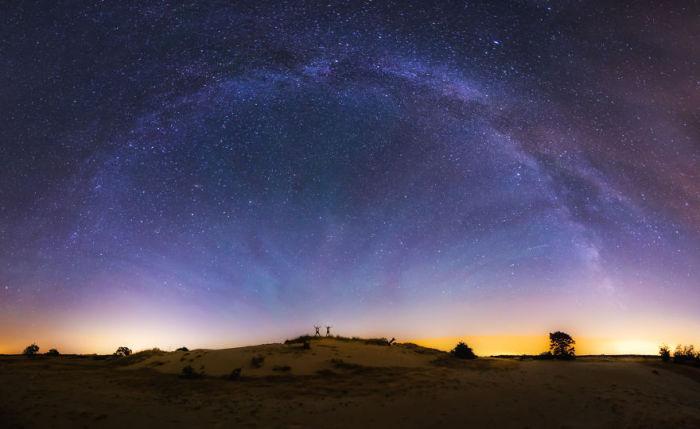 Завораживающая красота звёздного неба.