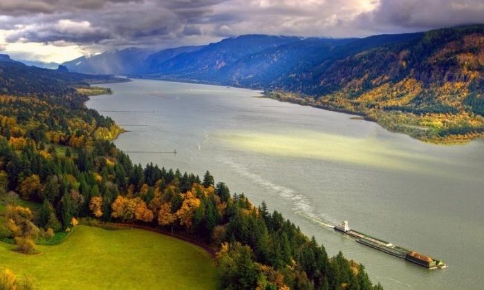 Река с самым большим производством электроэнергии в Северной Америке.