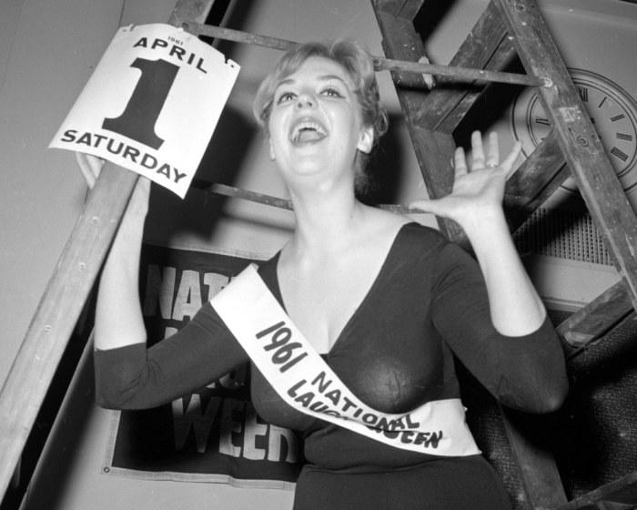 Кэтлин Таунсенд из Миннеаполиса в 1961 году стала Королевой смеха. Этот конкурс был посвящен популяризации национального чувства юмора.