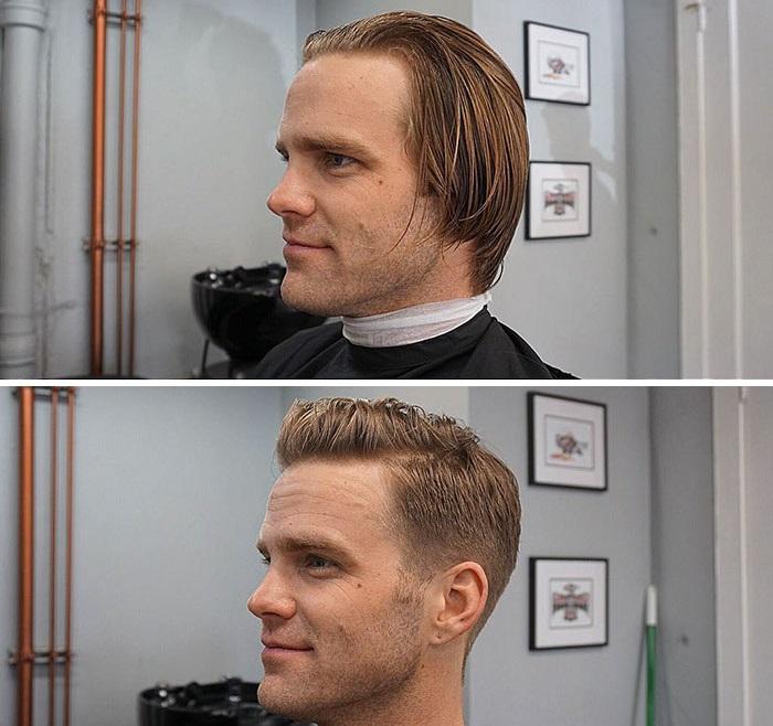 Кажется, что даже форма головы изменилась… и выглядит потрясающе!