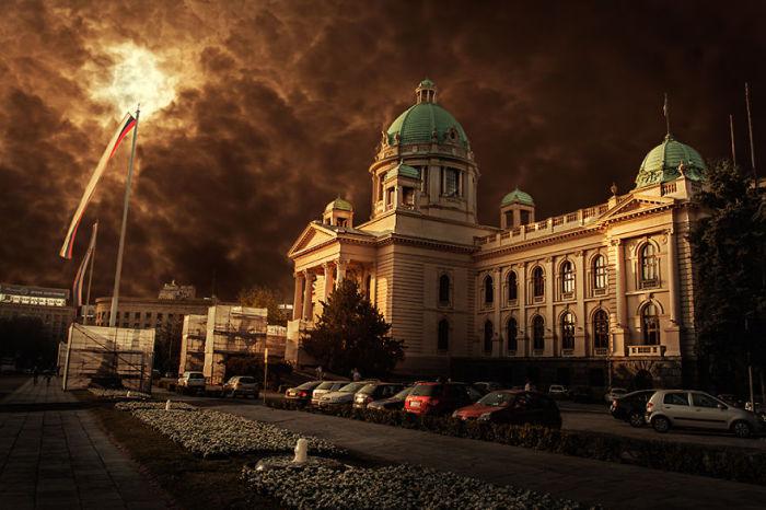 Красивейшее здание в самом сердце Белграда.