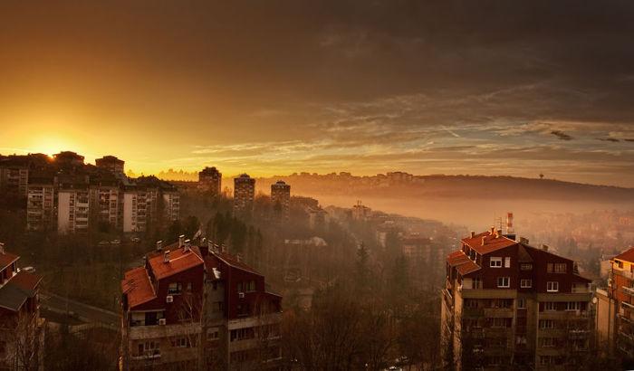 Окрестности Белграда.