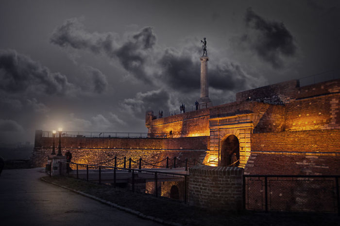 Западные ворота Белграда.