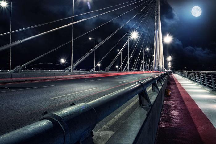 Самый высокий мост города, построенный за последние 40 лет.