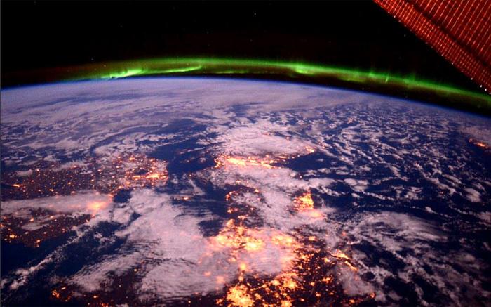 Снимок, сделан астронавтом Терри Вёртсом.