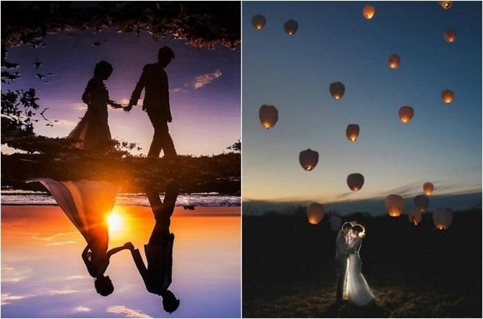 Великолепные изображения пламенной любви.