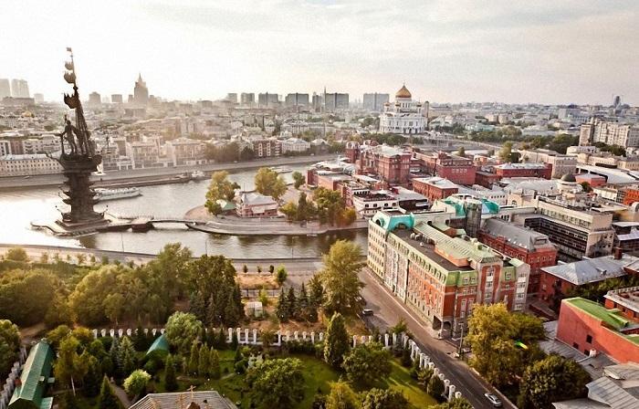 В столице России, которая занимает 17-е место в рейтинге, проживает 16,2 миллиона человек.