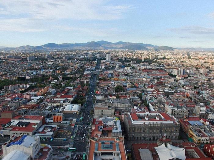 Мексиканская столица с населением в количестве 23,2 миллиона человек занимает 6-е место в рейтинге больших городов мира.