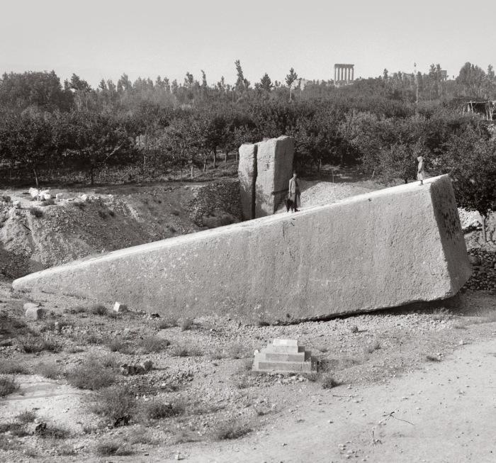 Этот блок - самый большой обработанный камень на свете.