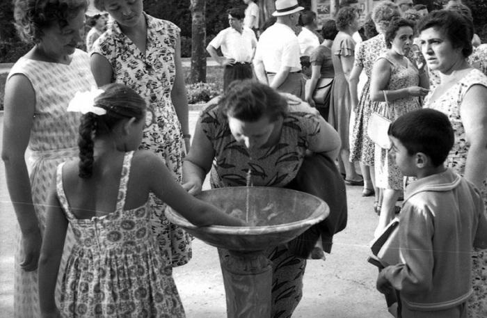 Источник чистой питьевой воды, 1963 год.