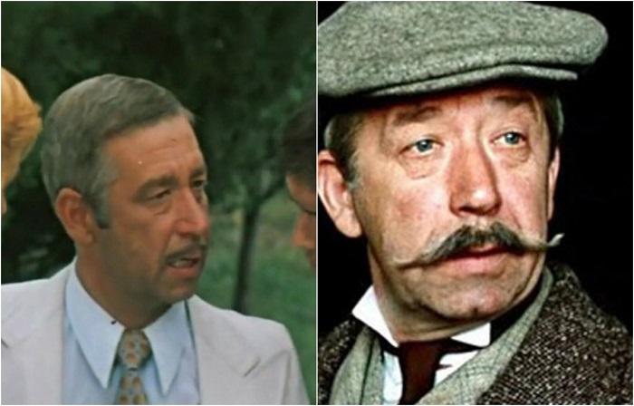 В комедийном фильме актер сыграл расфуфыренного директора турбазы «Орлиный приют».