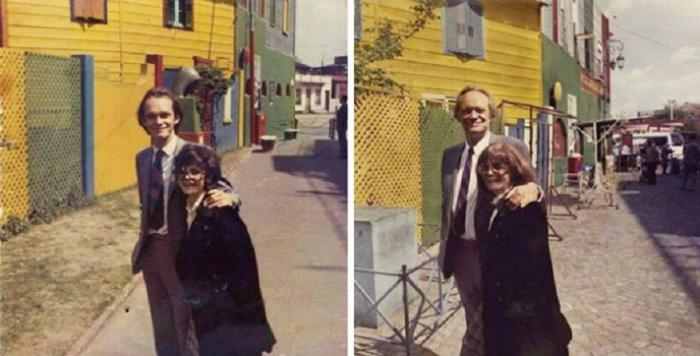В Буэнос-Айресе через 40 лет.