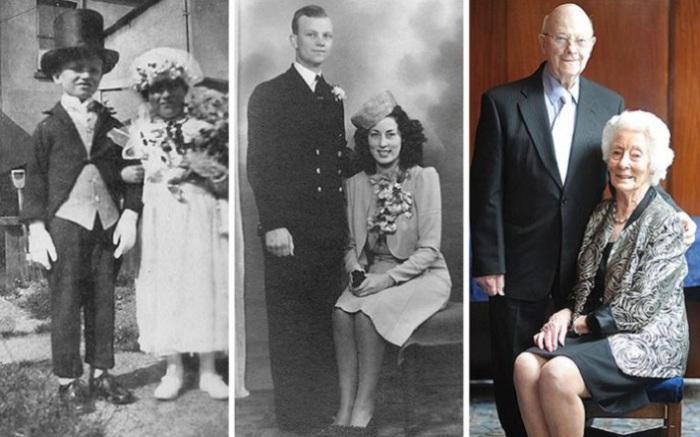 Детская игра закончилась 70-летней годовщиной свадьбы.