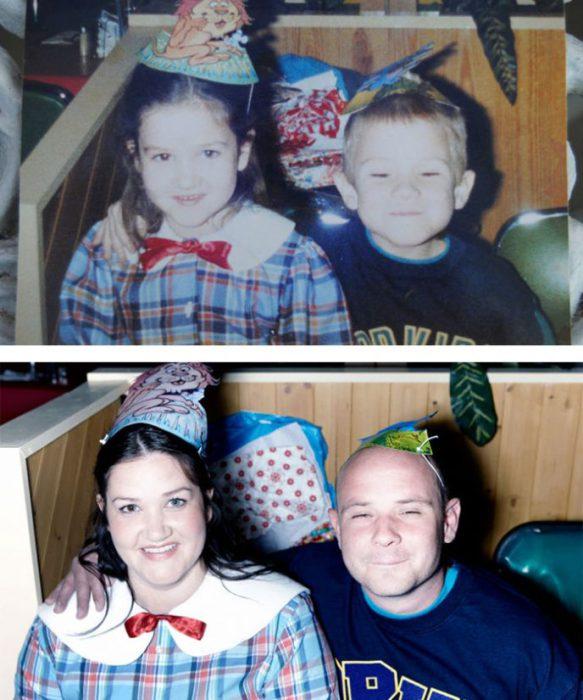 Кэтти и Джозеф вместе со школьной скамьи.