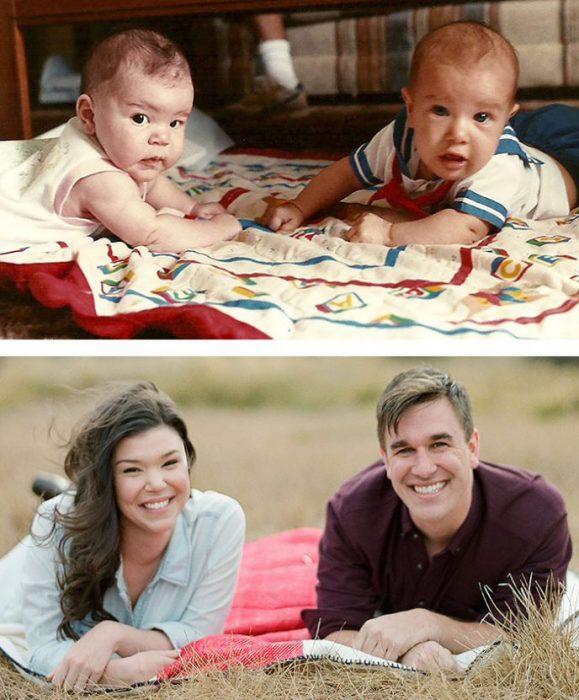 Одри и Майк знакомы с пелёнок.