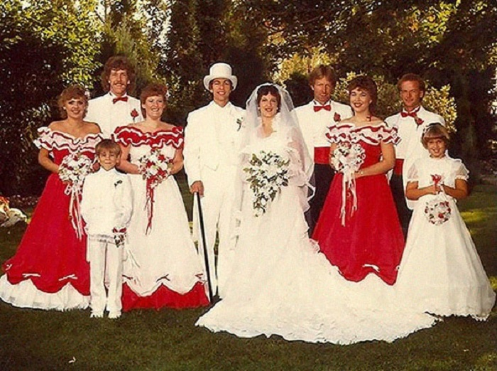 Свадьба в стиле коридо.