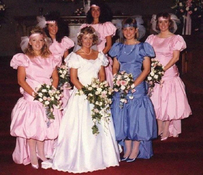 Фантазия невест безгранична.