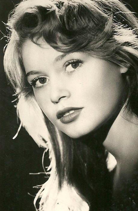 В 1949 году фотография юной Брижит Бардо была опубликована на страницах журнала «Elle», но вместо имени фотомодели были указаны инициалы «В.В».