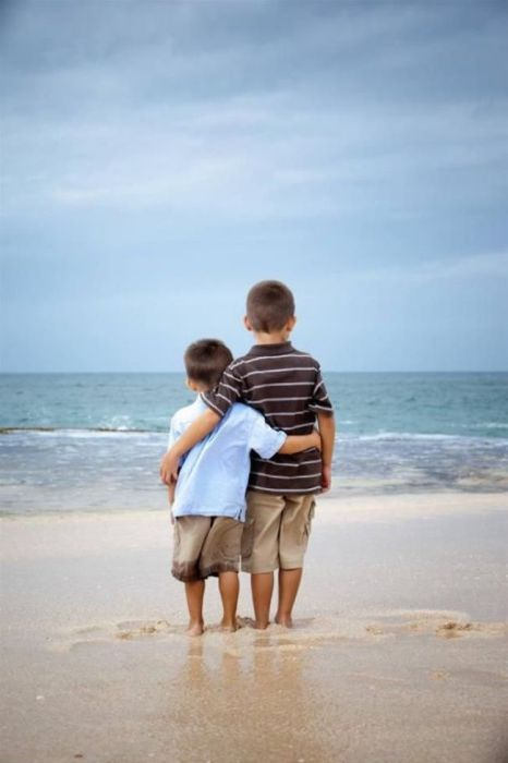 Ценное ощущение покоя и радости, когда есть старший брат.