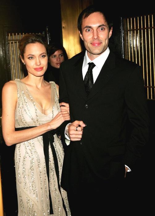 Анджелина Джоли и ее родной брат Джеймс Хейвен.
