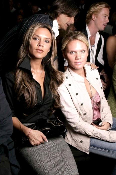 Виктория с сестрой Луизой Адамс.