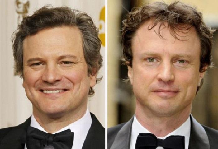 Колин более известен чем его брат не смотря на то, что у Джонатана имеется высшее актерское образование.