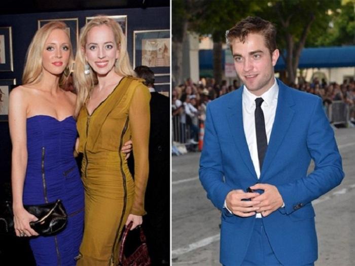 У красавчика актера Роберта Паттинсона есть две родные сестры - Лиззи и Виктория, такие же яркие и симпатичные, как и их знаменитый брат.