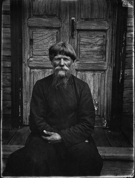 Настоятель молельни поморцев в Семеновском уезде, 1897 год.