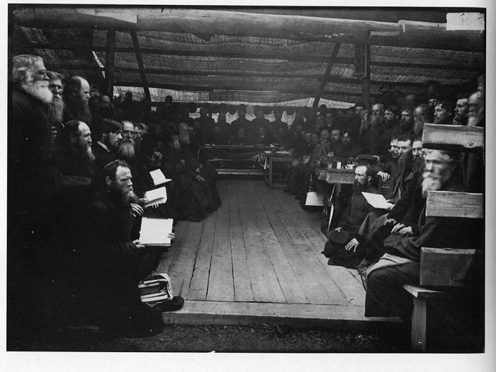 Собрание старообрядцев в Нижнем Новгороде.