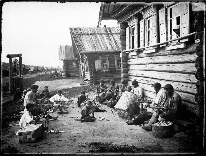 Отделка ложечного черенка, 1897 год.