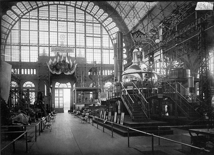 Машинный отдел Всероссийской художественно-промышленной выставки, 1896 год.