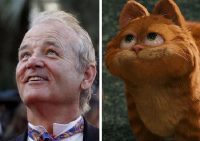 Кот, «Гарфилд».