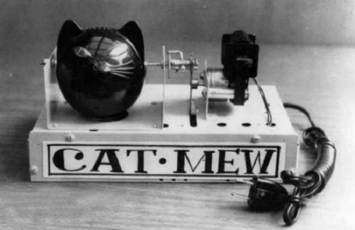 Кото-робот был выдуман в 1963 году японцами, для отпугивания мышей и крыс.