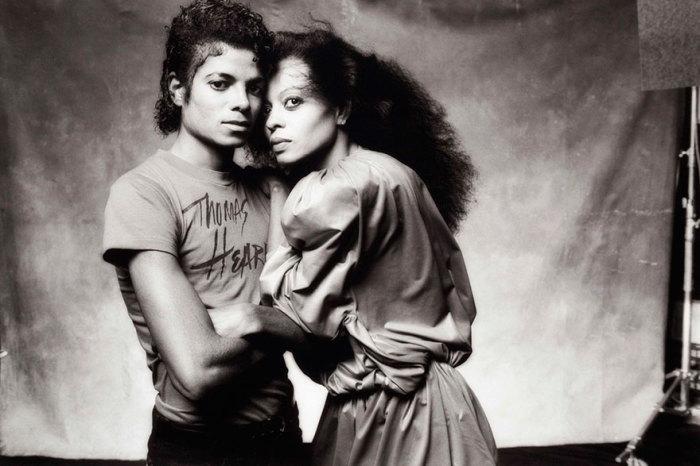 Майкл и Диана Джексон - король поп-музыки с сестрой.