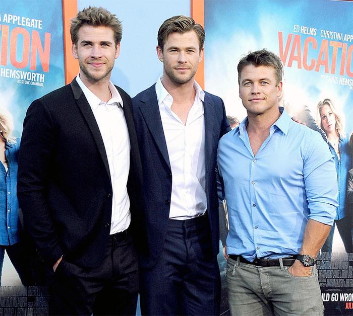 Удивительно, но все три брата снимаются в кинофильмах и очень дружны между собой.